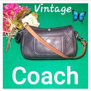 Vitage Rare Coach Leather Purse
